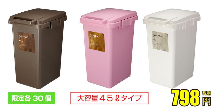 ゴミ箱と玄関マット0410