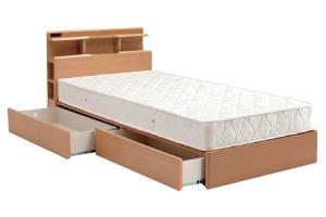 BOX引き出し付きベッド